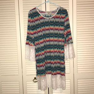 Women's Young Threads New York Dress Size XL.